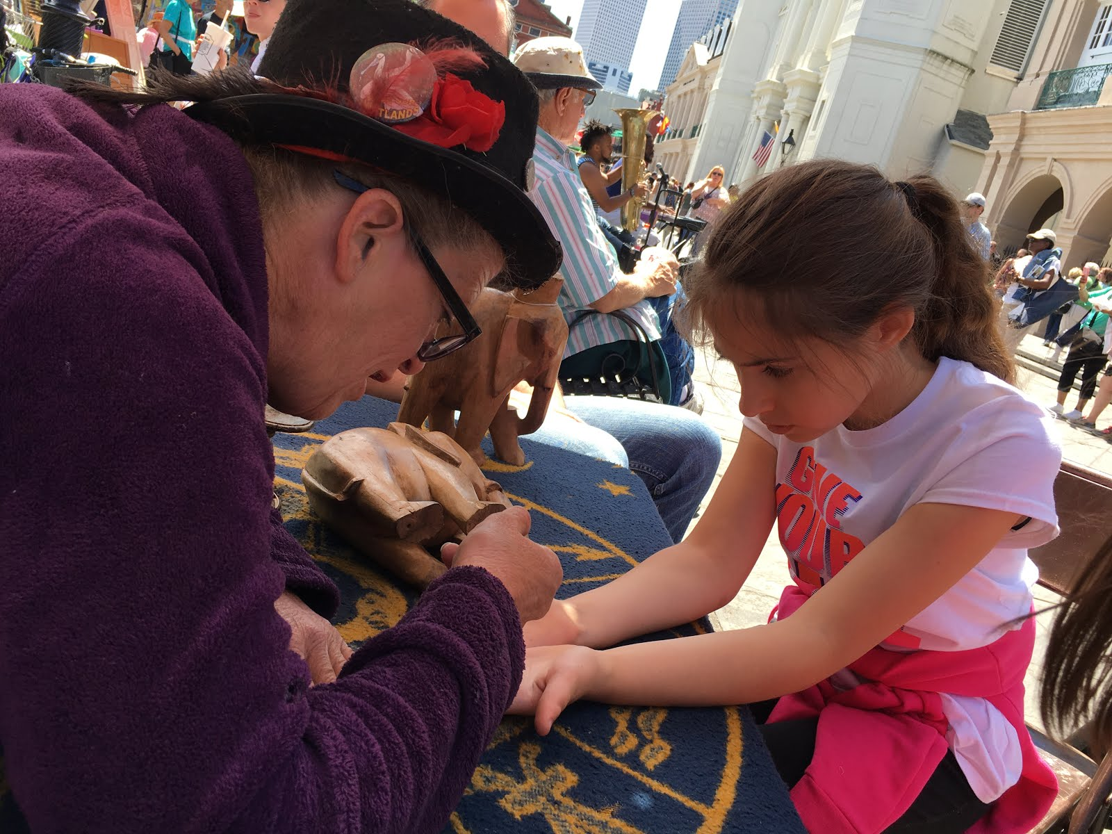 Haven and Joni: We love NOLA! Fortune telling