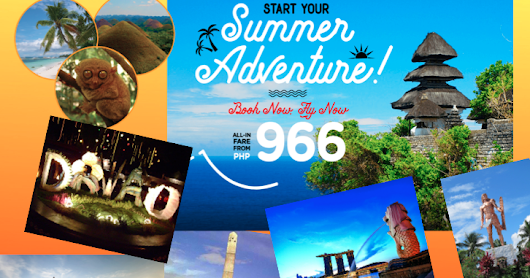Cheapest Fare is P866 to Cebu and more!