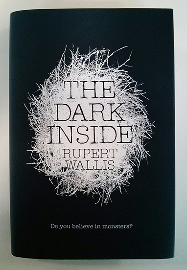 Photo of The Dark Inside by Rupert Wallis with Dust Cover