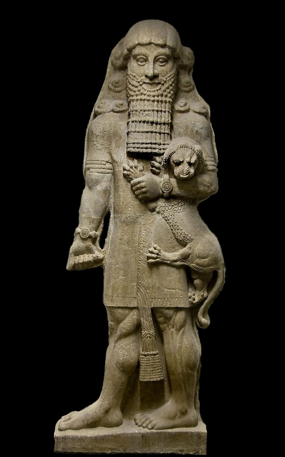 How did Gilgamesh show his arrogance in The Epic of Gilgamesh?