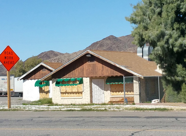 Abandoned Building in Baker California