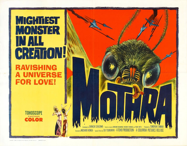 Papo de Cinema: Os Monstros Atacam! - MOTHRA (1961)