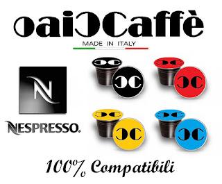CiaoCaffè KIT 10 Cialde Capsule Caffè NESPRESSO Compatibili 100% Espresso Bar