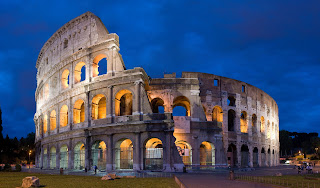 Rome Colosseum HD Wallpaper