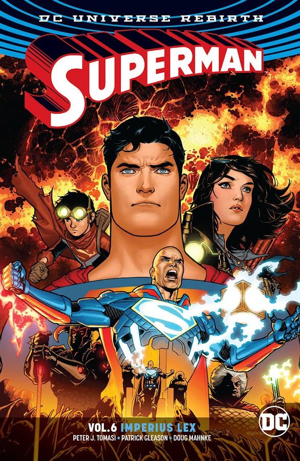 superman vol 6 imperius lex dc comics peter tomasi