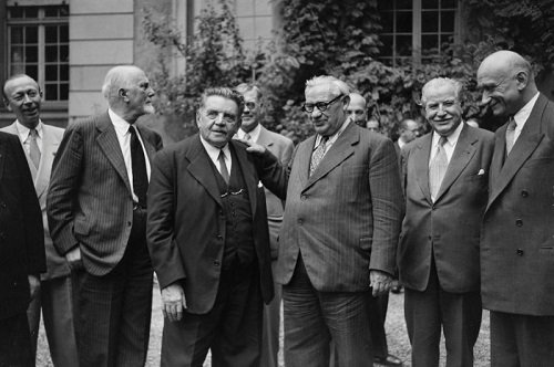 Council of Europe (CoE) - European Human Rights Court - founding fathers (1949)