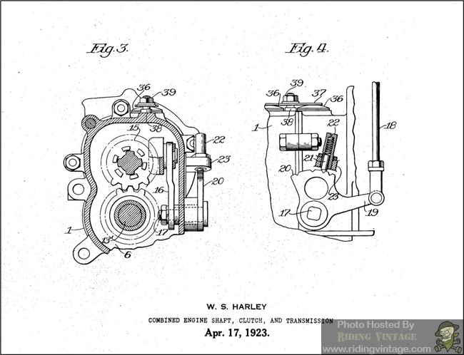 this is a collection of mechanical drawings which harley-davidson submitted  to the us patent office for various innovations in motorcycle development