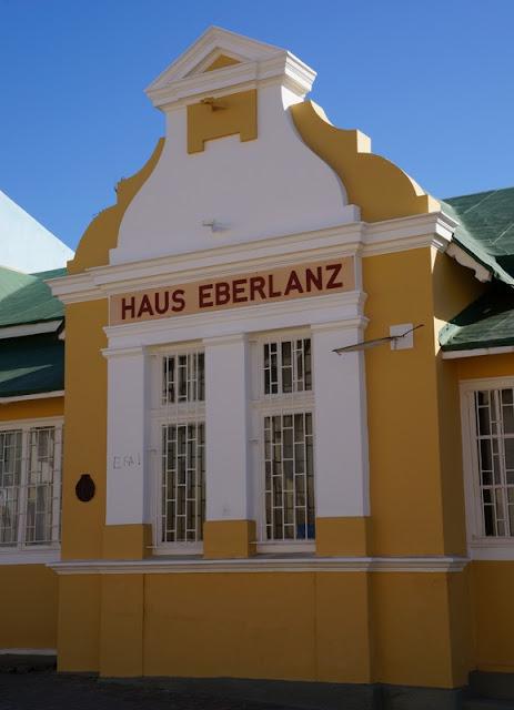 arquitetura alemã em Luderitz