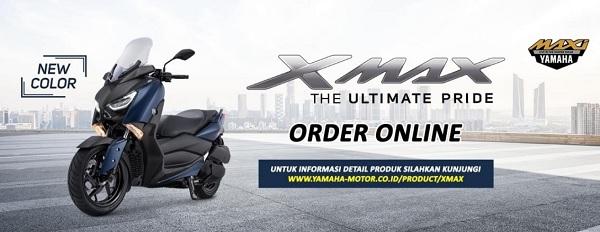 Warna Terbaru Yamaha XMAX 250