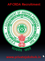 AP CRDA Recruitment