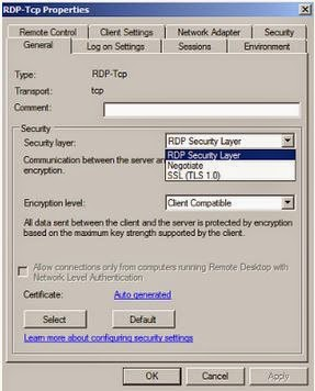 Solving from RDP stopped working after disabling TLS1 0 | ICT for