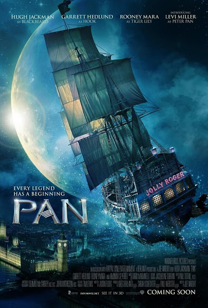 pan and neverland,潘恩航向夢幻島