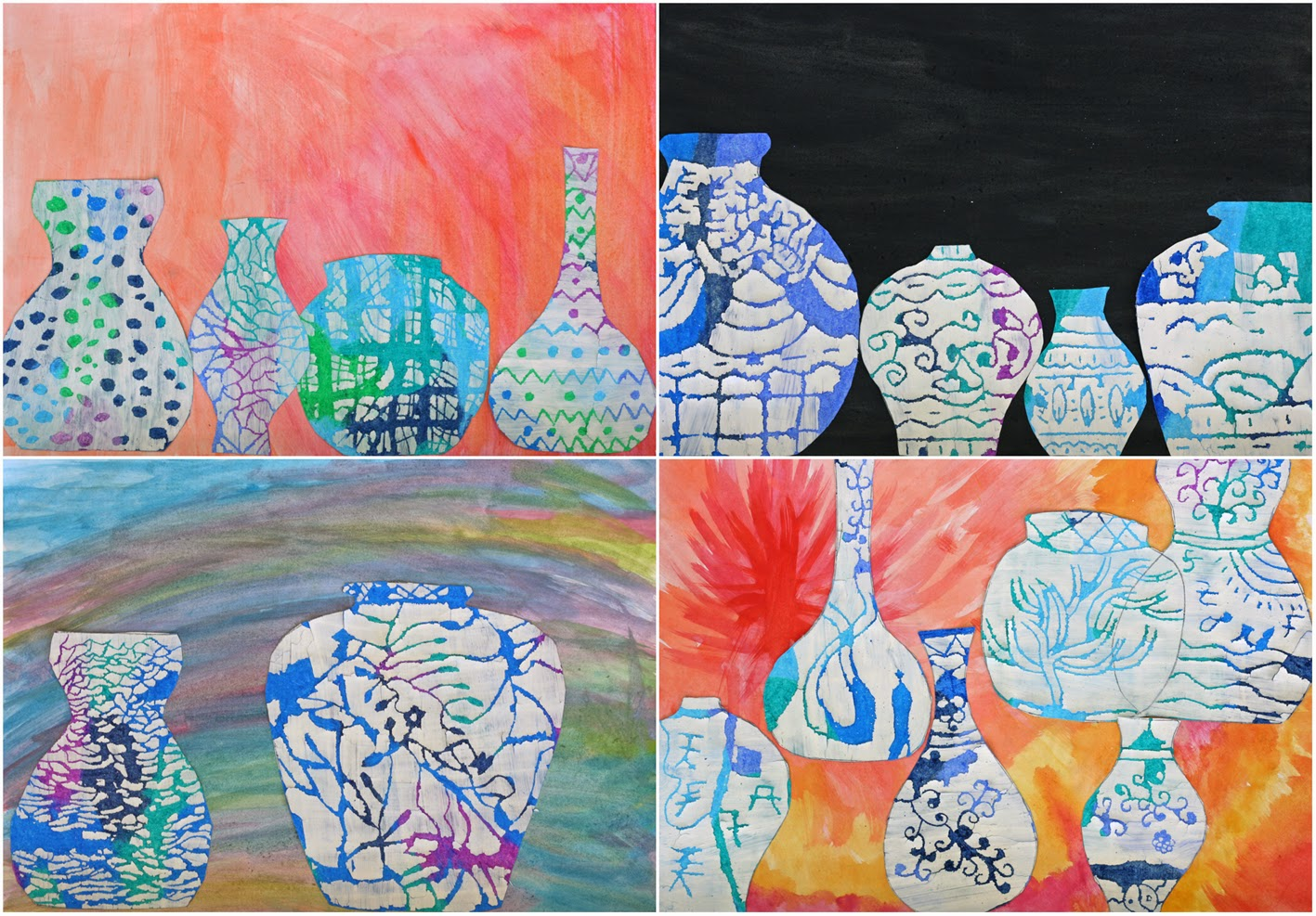 Art With Mr Hall Ming Vases