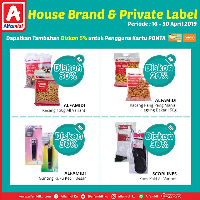#Alfamidi - #Promo #Katalog Private Label Periode 16 - 30 April 2019