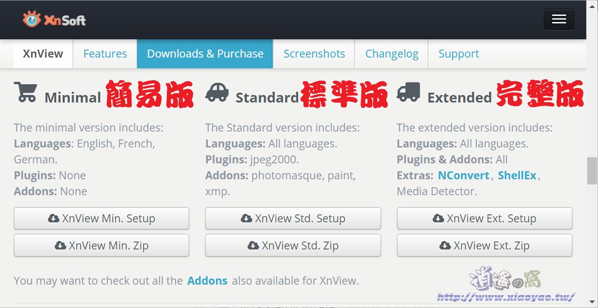 Xnview免費看圖軟體
