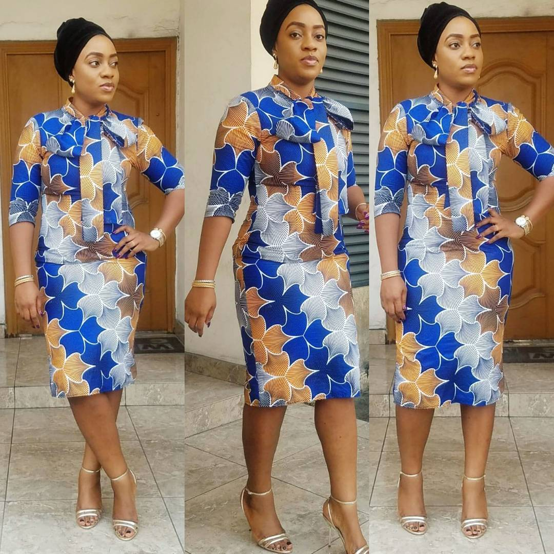 Check Out These 50 Ankara Latest Fashion Styles Latest Fashion In Short Gown Styles 2018