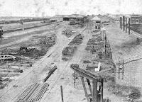 1870 - Construcción de la cabecera rosarina del Ferrocarril Central Argentino