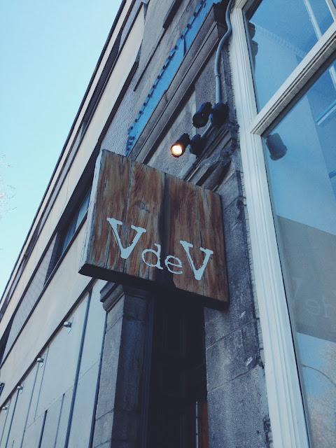 V de V Boutique in Montreal