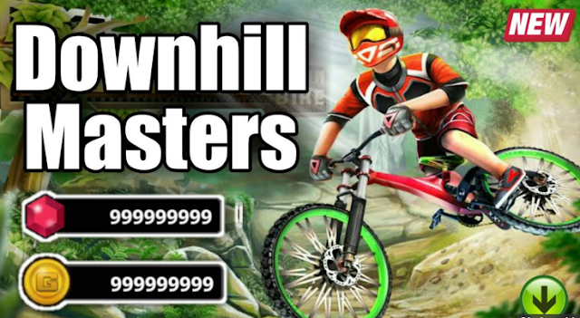 Download Game Downhill Masters v1.0 Mod Apk Unlimited Diamond and Gold