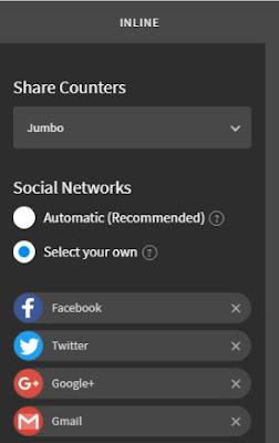 Hướng dẫn cài đặt share button AddThis cho blogspot AMP