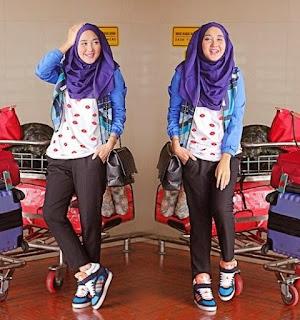 model hijab remaja masa kini