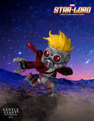 Star-Lord Animated Marvel Mini Statue by Skottie Young & Gentle Giant