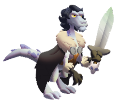 imagen del dragon bastark de dragon city