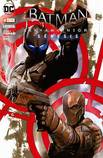 http://www.nuevavalquirias.com/batman-arkham-knight-genesis-comic-comprar.html