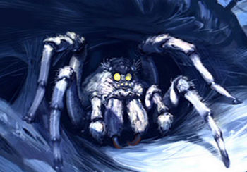Giant spiders harry potter