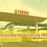 Lowongan Kerja PT. Yamaha Motor Parts Manufacturing Indonesia Karawang Terbaru