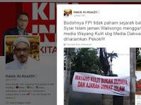 Ahokers ini Main Tuding FPI Pembuat Spanduk Anti Wayang, Langsung Disindir Anggota DPR
