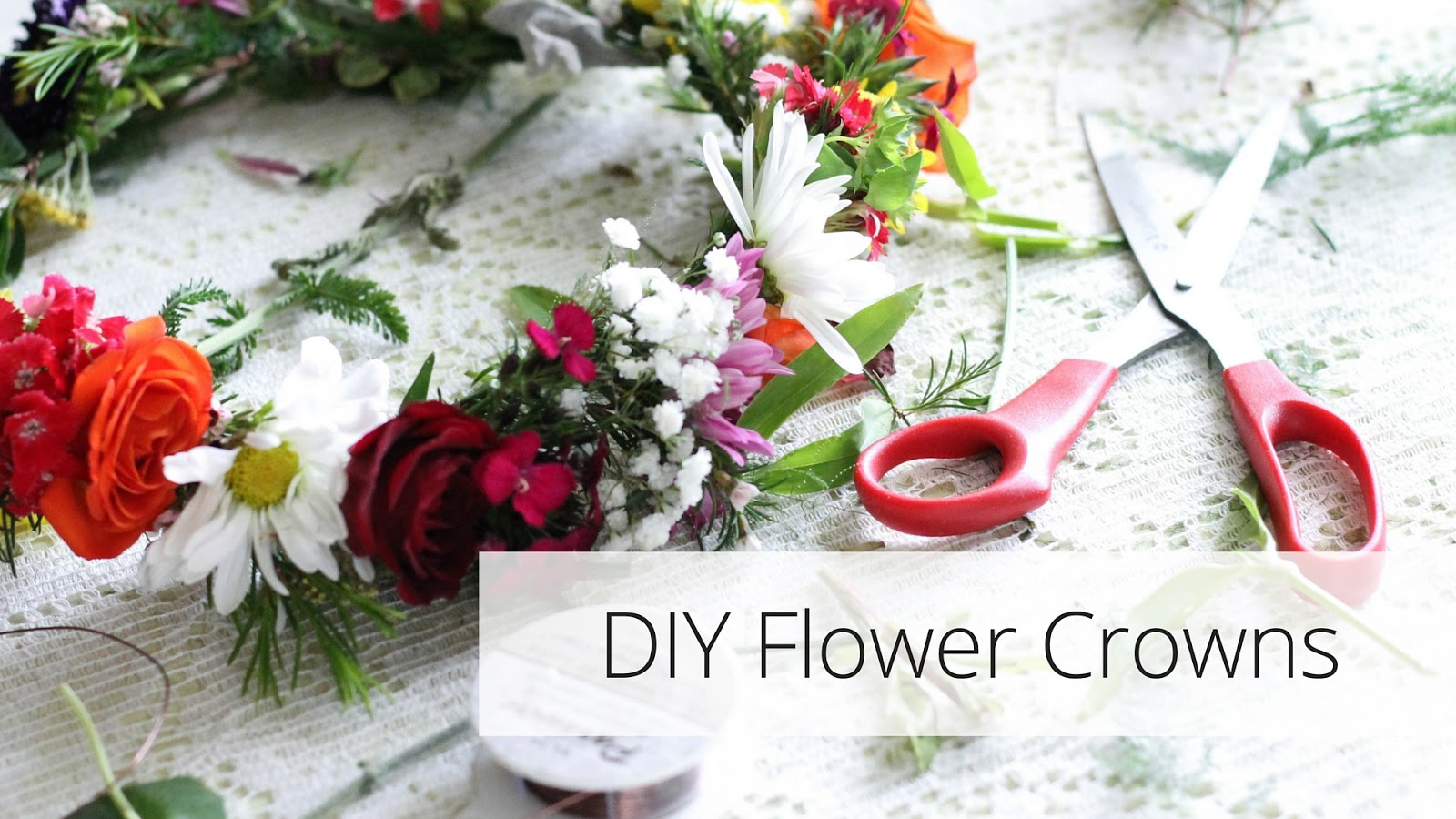 Diy Flower Crowns Minnie Muse