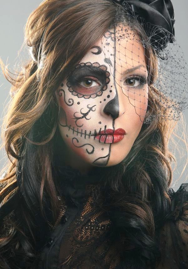 Happy Halloween Day: 50 Pretty Halloween Makeup Ideas