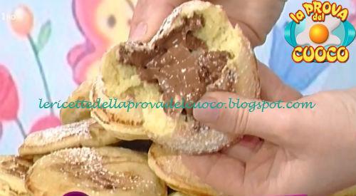Ricetta dei Mini pancakes di crema al cioccolato da La Prova del Cuoco