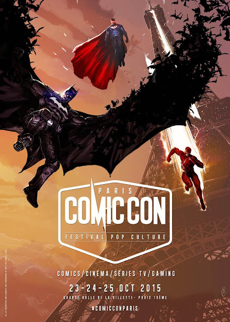 Comic Con Paris - Affiche