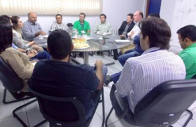 SUREG-GO recebe visita do Diretor-Presidente da CPRM Esteves Colgano
