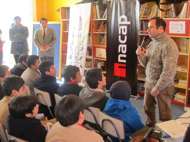 Charlas Motivacionales De Carlos De Gavardo A Alumnos De