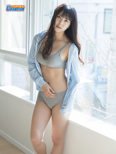 Shiroma Miru 白間美瑠,Young Champion Digital Magazine 2018