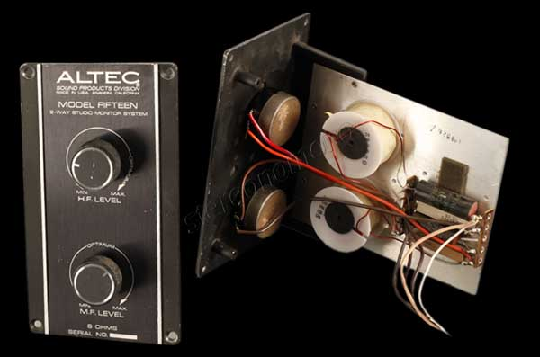 stereonomono - Hi Fi Compendium: Altec Lansing Fifteen