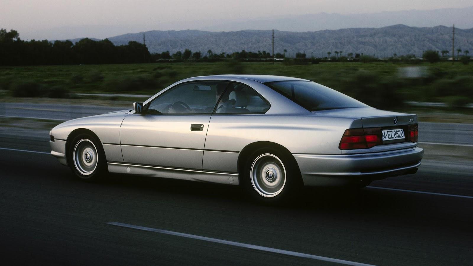 1989-99 BMW 8 Series E31