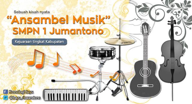 Pengalaman Mengikuti Lomba Musik, Ansambel Musik Tingkat Kabupaten, Cerita menang lomba musik di kabupaten, lomba musik antar smp se jawa tengah