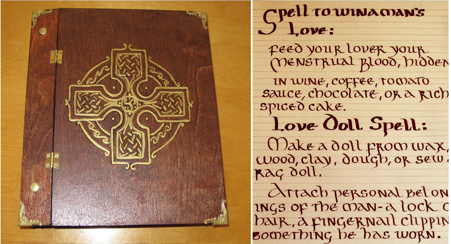 Spells from a Real Book of Shadows