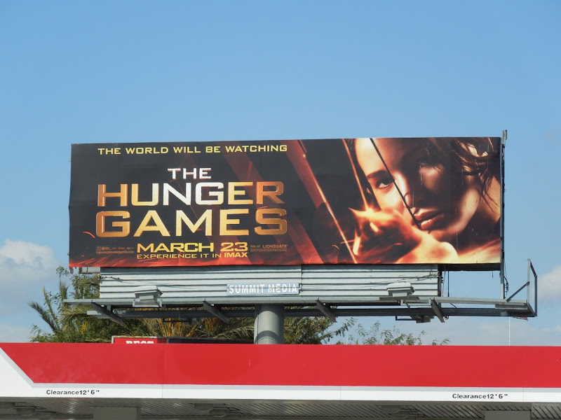 The Hunger Games movie billboard