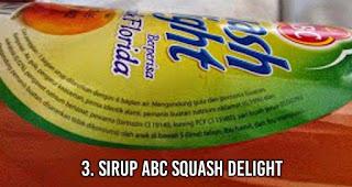 Sirup ABC Squash Delight Tidak Aman dikonsumsi Balita dan Ibu Hamil