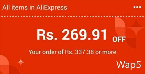 AliExpress Loot – Get 4$ Discount On Purchase Of 5$ (Working Again)