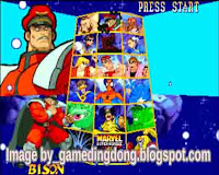 Marvel super Heroes VS Street Fighter 2