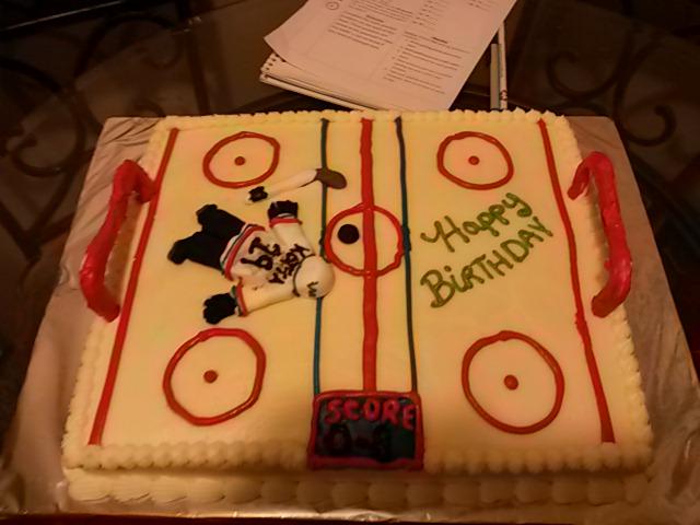 Cakes By Brenda Great Falls Montana Hockey Birthday Cake