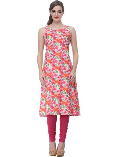 Pink Straight Cotton Dress