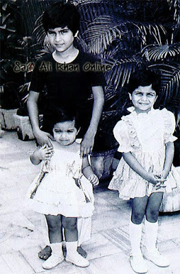 Well, you would never guess these siblings! Let me tell you- They are the Nawabs of Pataudi! Saif, Soha and Saba.