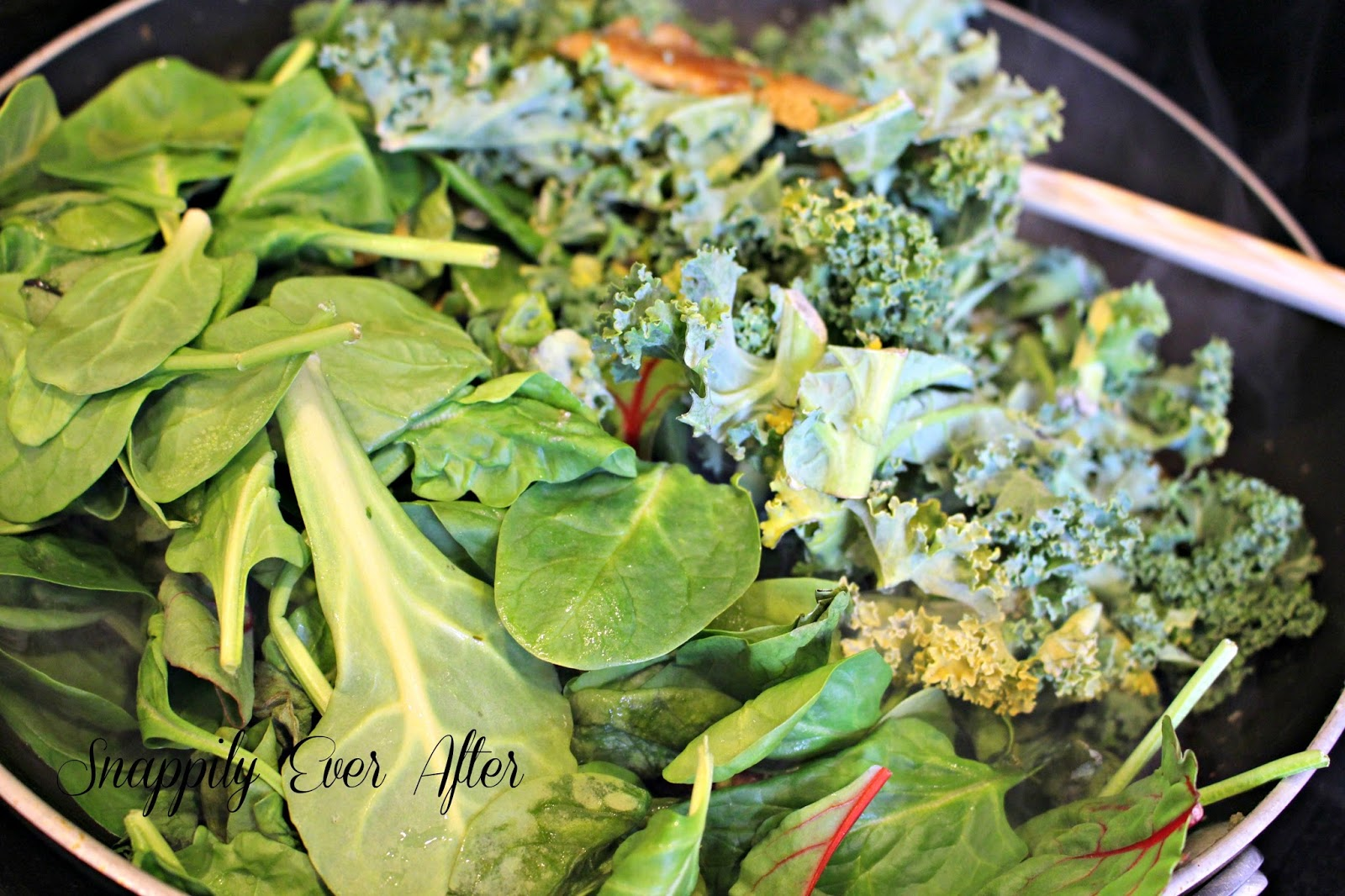 Snappily Ever After Pesto Lasagna With Spinach And Kale